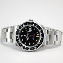 ロレックス (Rolex) GMT-Master II Stainless Steel Black Dial-16710