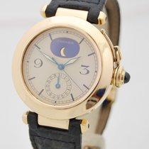 Cartier Pasha Moonphase 18 Karat Gold, Box & Papiere