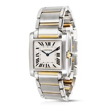 Cartier Tank Francaise W51007Q4 Men's Watch in 18KYG/SS
