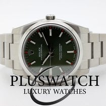 Rolex Oyster Perpetual 34mm Verde Oliva