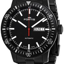 Fortis B-42 Cosmonautis Monolith Automatic Black Mens Watch...