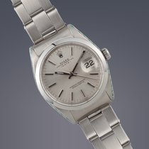 Rolex Date stainless steel Oyster Perpetual Chronometer watch...