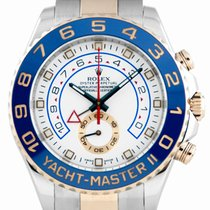 Rolex Yacht-Master II SS/Everose Gold White Dial - 116681