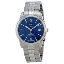 Tissot PR100 Classic Blue Dial Stainless Steel Men's Watch