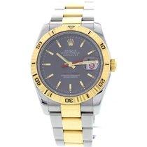 Rolex Men's Rolex Datejust Turn-O-Graph S/S & 18K YG...