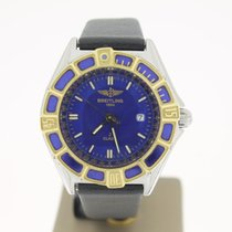 Breitling J Clas Steel/Gold BLUEDIAL (BOX1998) 31mm