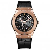 Hublot Classic Fusion  18k Rose Gold Mens WATCH 515.OX.0180.LR