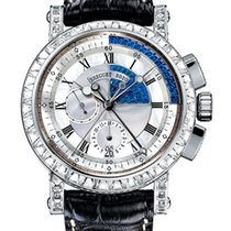 Breguet Brequet Marine 5829 18K White Gold & Diamonds...