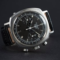 "Heuer CAMARO ""CHOCOLATE"" DIAL DOUBLE REGISTER CHRONOGRAPH"