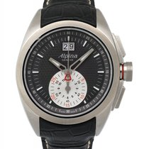 Alpina Nightlife Club Chronograph Big Date Men's Watch –...