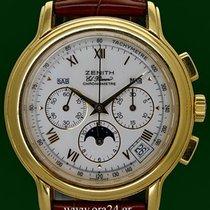 Ζενίθ (Zenith) Chronomaster El Primero Moon 18k Porcelain Dial...