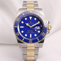 Rolex Submariner 116613LB Ceramic Blue Steel & Gold