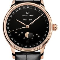 Jaquet-Droz The Eclipse Black Enamel Watch