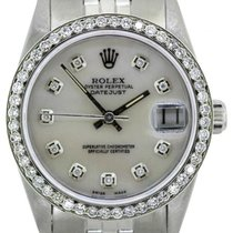 Rolex Midsize Datejust Men's 31mm White Mother Of Pearl...
