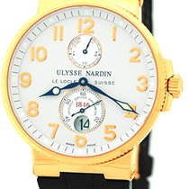 "Ulysse Nardin Gent's 18K Rose Gold  ""Maxi Marine..."