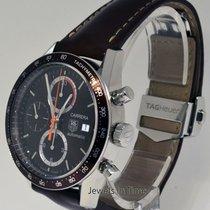 TAG Heuer Carrera Fangio Steel Chronograph Watch Box/Book...