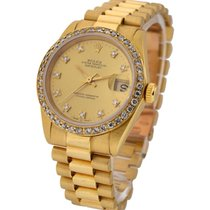 Rolex Used 68278_used_pres_champ_dia Midsize President with...