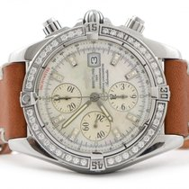 Breitling Chronomat Evolution Factory MOP Diamond Dial &...