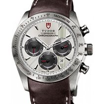 Tudor Fastrider Chronograph 42000 Silver Index Stainless Steel...