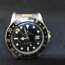 Ρολεξ (Rolex) GMT-Master - Black Dial - Steel / Gold - FULL...