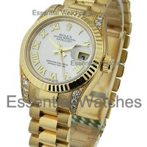 Rolex Unworn 179238 Layds Yellow Gold President with Diamond...