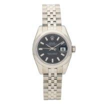 Rolex Datejust 179160 - Lady's Watch - Black Dial - 2007