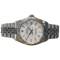 Rolex Oyster Perpetual Datejust White Gold And Stainless Steel...
