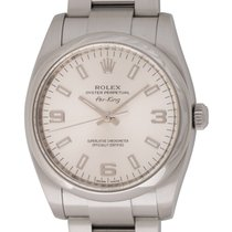 Rolex : Air-King :  114200 :  Stainless Steel : silver Arabic...