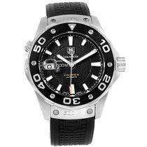 TAG Heuer Aquaracer Calibre 5 500m Steel Mens Watch Waj2110