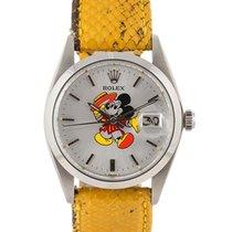 Rolex Precision Date Topolino Mickey Mouse Dial 34mm In...