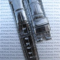 Panerai Black Alligator Band Strap Bracelet 24mm 24/22 for...