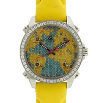 Jacob & Co. Five Time Zones World is Yours Yellow &...