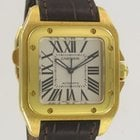 Cartier Santos 100 MM Yellow Gold