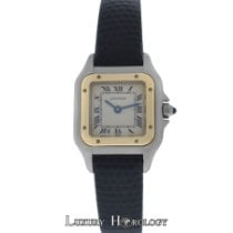 Cartier Genuine Ladies Panthere 18K Gold  Steel 22mm Quartz