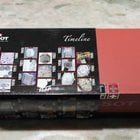 Tissot vintage watch box red and black with booklet