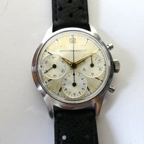 Heuer Chrono Abercrombie & Fitch 1950ties Dauphine Hands