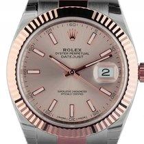 Rolex Datejust 41 Stahl Roségold Everose Automatik Armband...