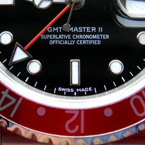 Rolex GMT II Stick Dial Ref 16710++NEAR NOS++ B&P Rolex...