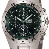 Seiko Titanium SND419P1 Herrenchronograph Sehr Sportlich