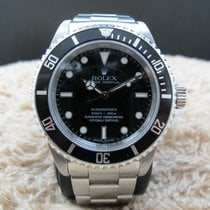 Rolex SUBMARINER 14060M 4 Liners Black Bezel (Inner Ring Serial)
