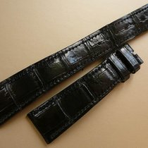 Vacheron Constantin genuine alligator 21/16 XL length, black