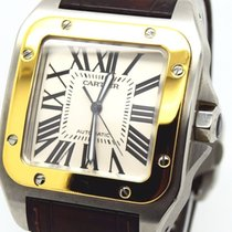 Cartier Santos 100 XL Ltd Edition 100 Year with Box & Papers