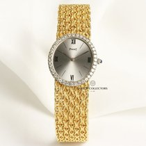 Piaget Lady Diamond Bezel 9826 18k Yellow Gold