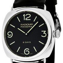 Panerai PAM00610 Radiomir Black Seal 8 Days Acciaio Men Black...