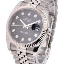 Rolex Unworn 116234 Datejust 36mm in Steel with Flueted Bezel...