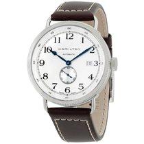 Hamilton Navy Pioneer Silver Dial Mens Watch H78465553