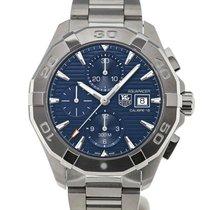 TAG Heuer Aquaracer 43 Chronograph Blue Dial Calibre 16