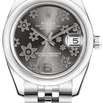 Rolex Unworn 178240 Mid Size DATEJUST with in Steel with Domed...