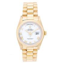 Ρολεξ (Rolex) President Day-Date Men's 18k Gold Watch 18038