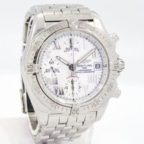 """Breitling """"A13358 Cockpit Chronograph"""" Watch -White..."""